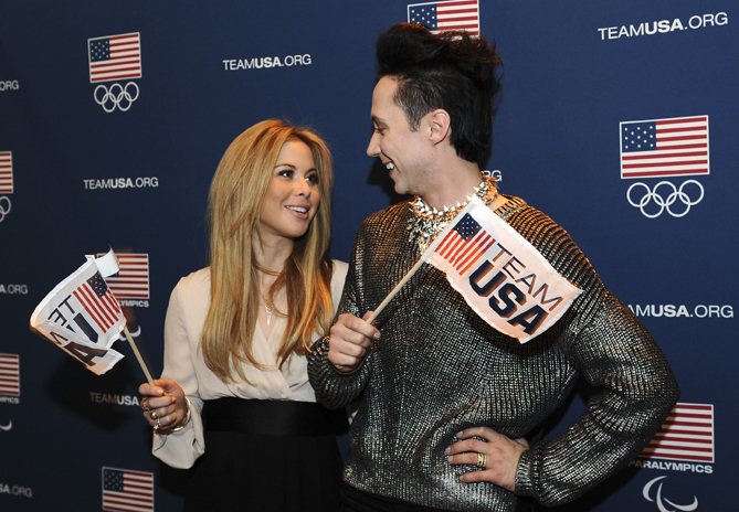The team has also appeared together in support of Team USA, like they did for a 2014 Paralympic Games opening ceremony party in New York in March.