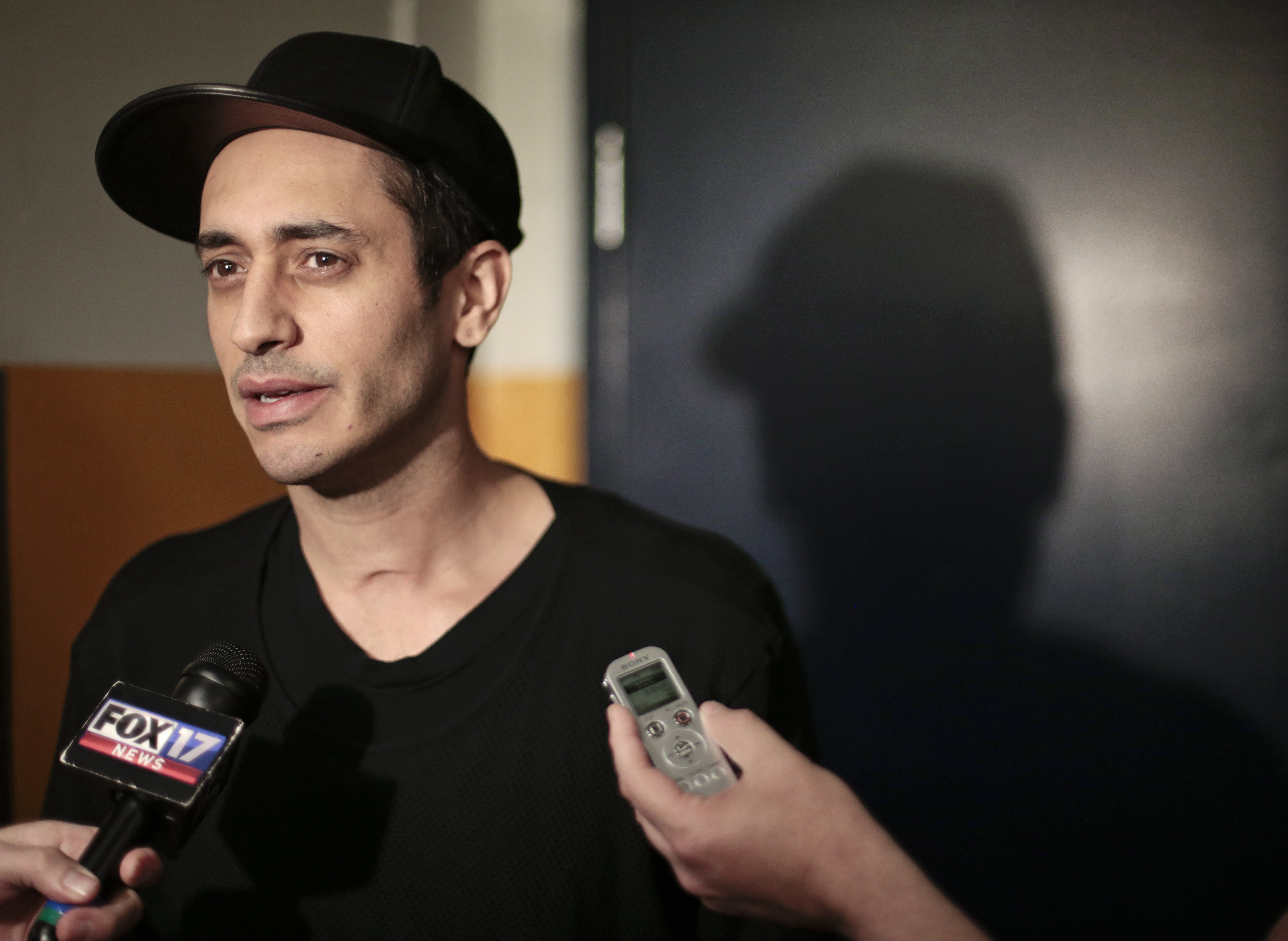 Nashville Predators center Mike Ribeiro talks with reporters Monday, April 27, 2015, in Nashville, Tenn. Although the Predators rebounded after missing the playoffs the past two years, they lost the opening round of the playoffs 4-2 to the Chicago Blackha