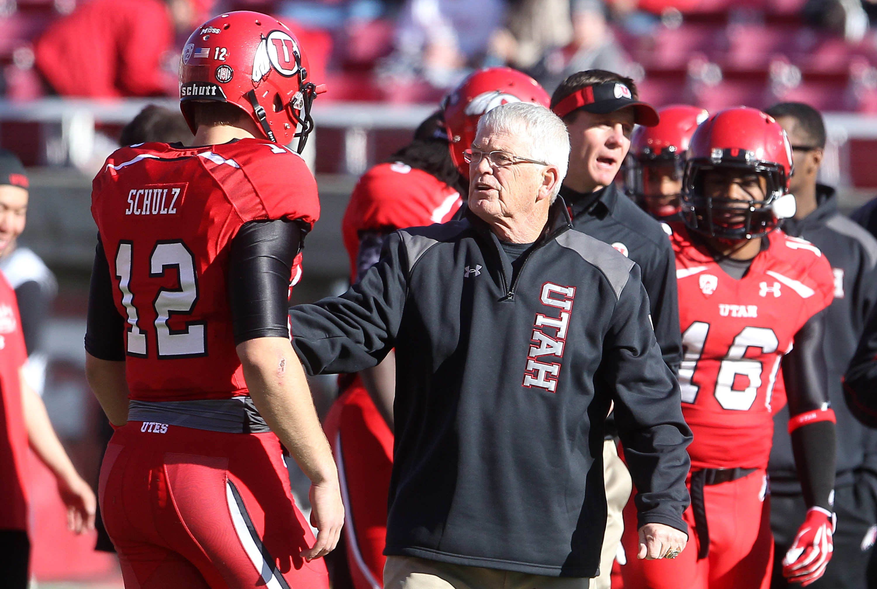 FILE - This Nov. 30, 2013, file photo shows Utah's Dennis Erickson during practice before the start of their NCAA college football game against Colorado, in Salt Lake City. Winning a national championship puts a coach in an exclusive group. Winning multip