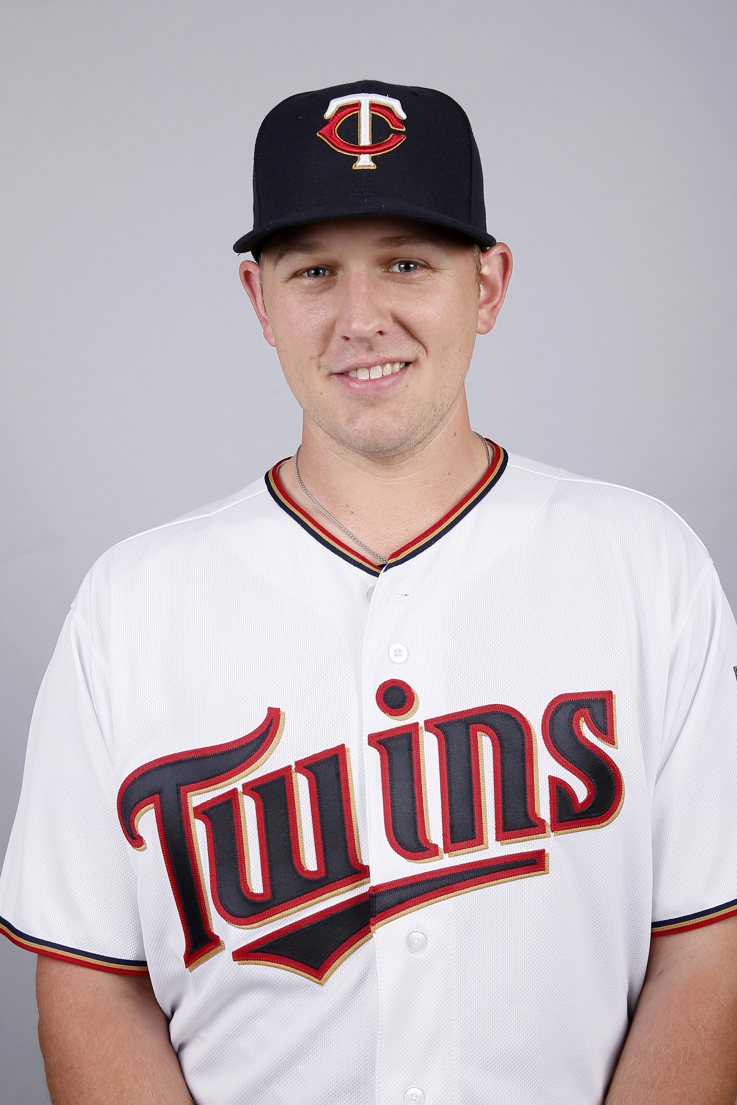 FILE - This is a 2015, file photo showing Tyler Duffey of the Minnesota Twins baseball team. Twins pitcher Tyler Duffey wasn't entirely prepared when he got called up to the major leagues for the first time. The right-hander, who opened the season at Doub