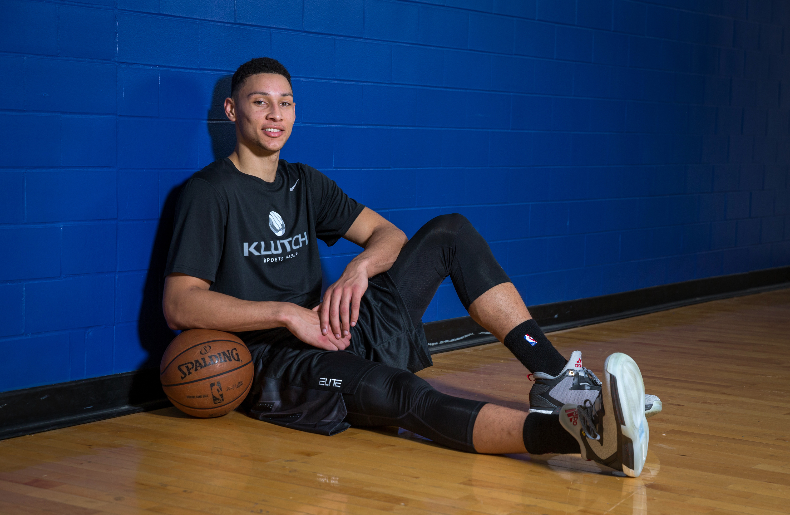 CLEVELAND, OH - MAY 19: Draft Prospect Ben Simmons poses for a photo during a workout at the Veale Center at Case Western Reserve University on May 19, 2016 in Cleveland, Ohio. (Photo by Nathaniel S. Butler/NBAE via Getty Images)