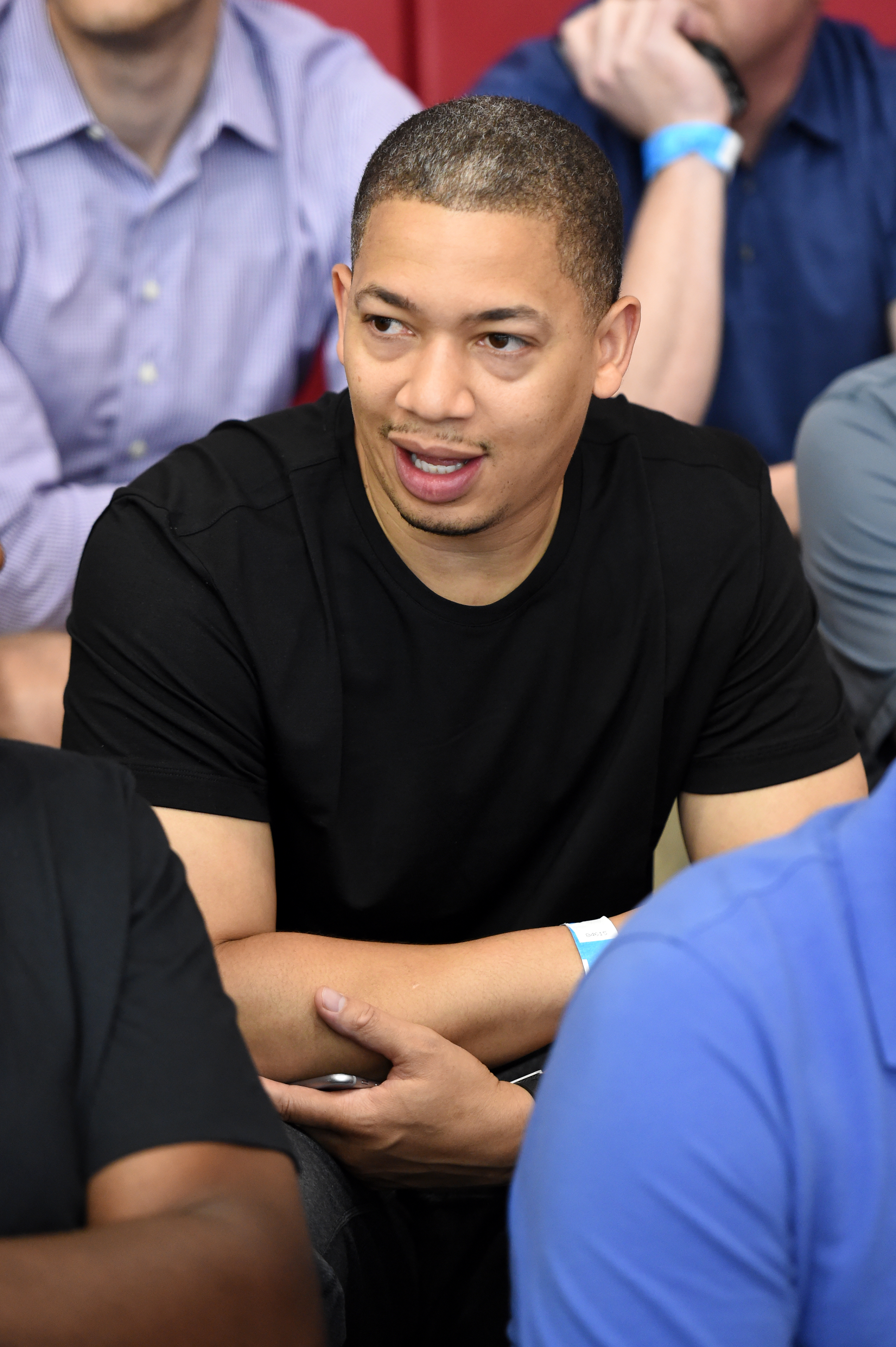 LAS VEGAS, NV - JULY 20: Cleveland Cavaliers Head Coach Tyronn Lue attends a USA Basketball Men's National Team practice on July 20, 2016 at Mendenhall Center on the University of Nevada, Las Vegas campus in Las Vegas, Nevada. (Photo by Andrew D. Bernstei