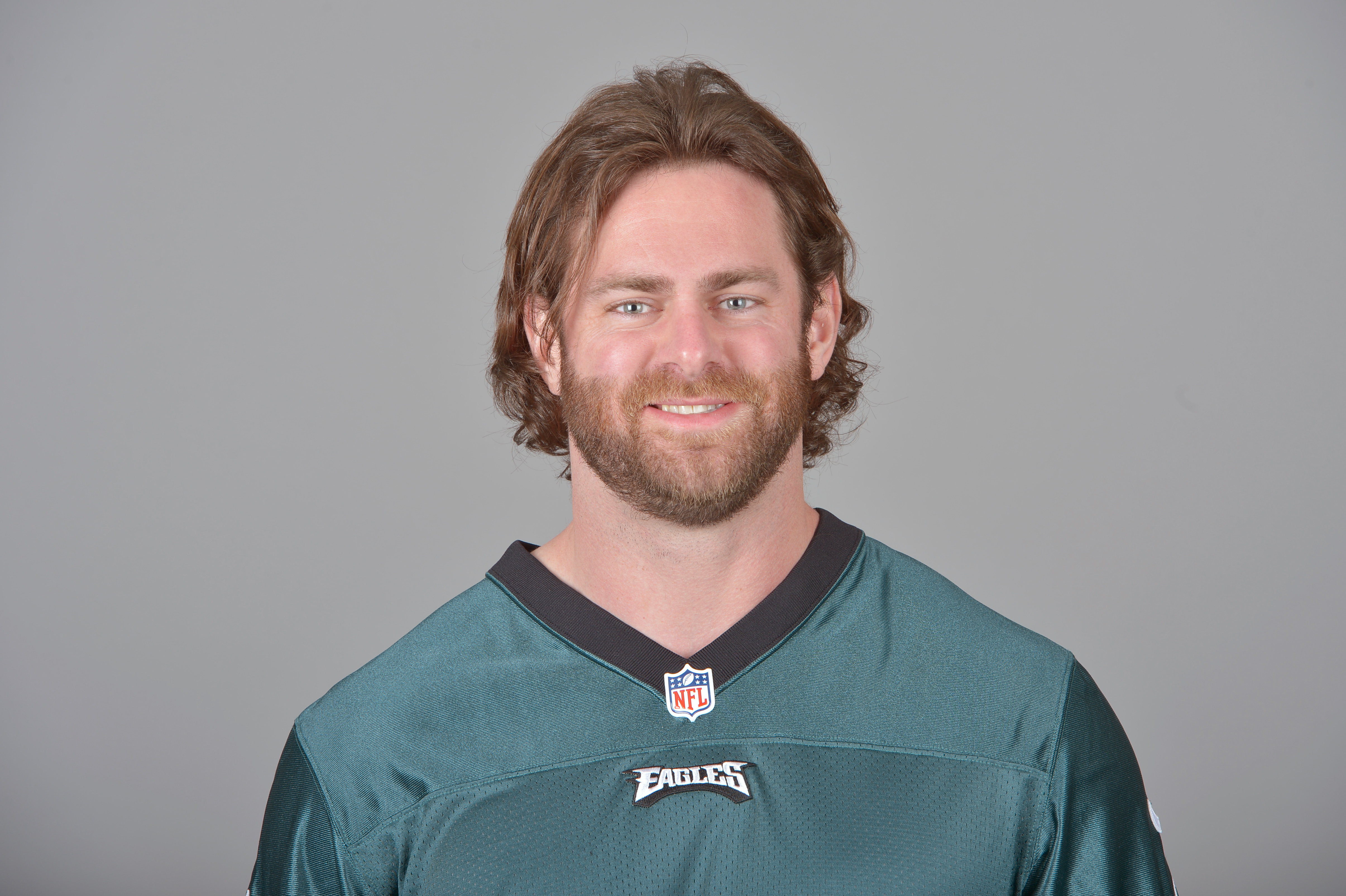 This is a 2014 photo of Evan Mathis of the Philadelphia Eagles NFL football team. This image reflects the Philadelphia Eagles active roster as of Wednesday, April 23, 2014 when this image was taken. (AP Photo)