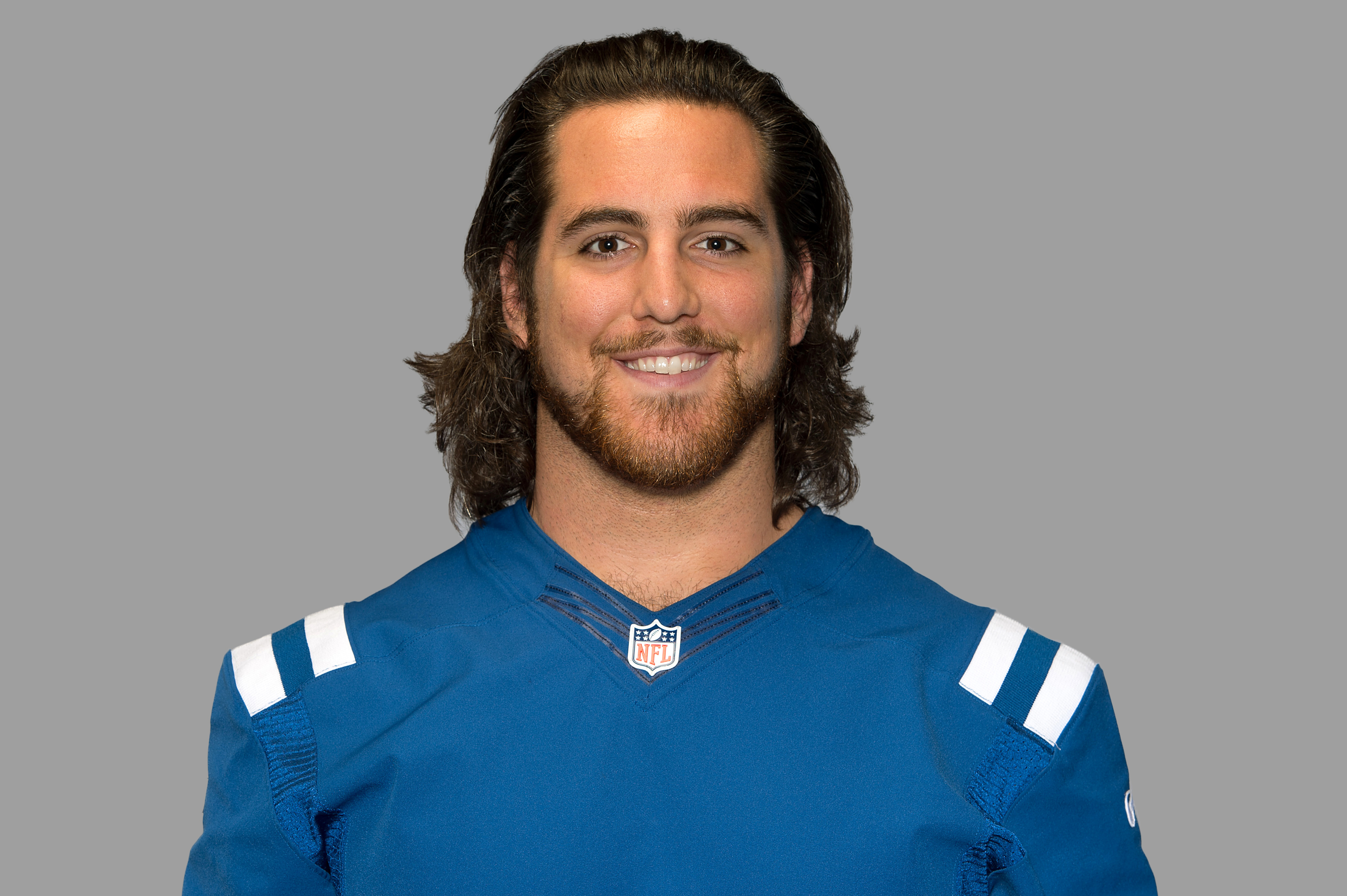 This is a photo of Anthony Castonzo of the Indianapolis Colts NFL football team. This image reflects the Indianapolis Colts active roster as of Thursday, July 16, 2015. (AP Photo)