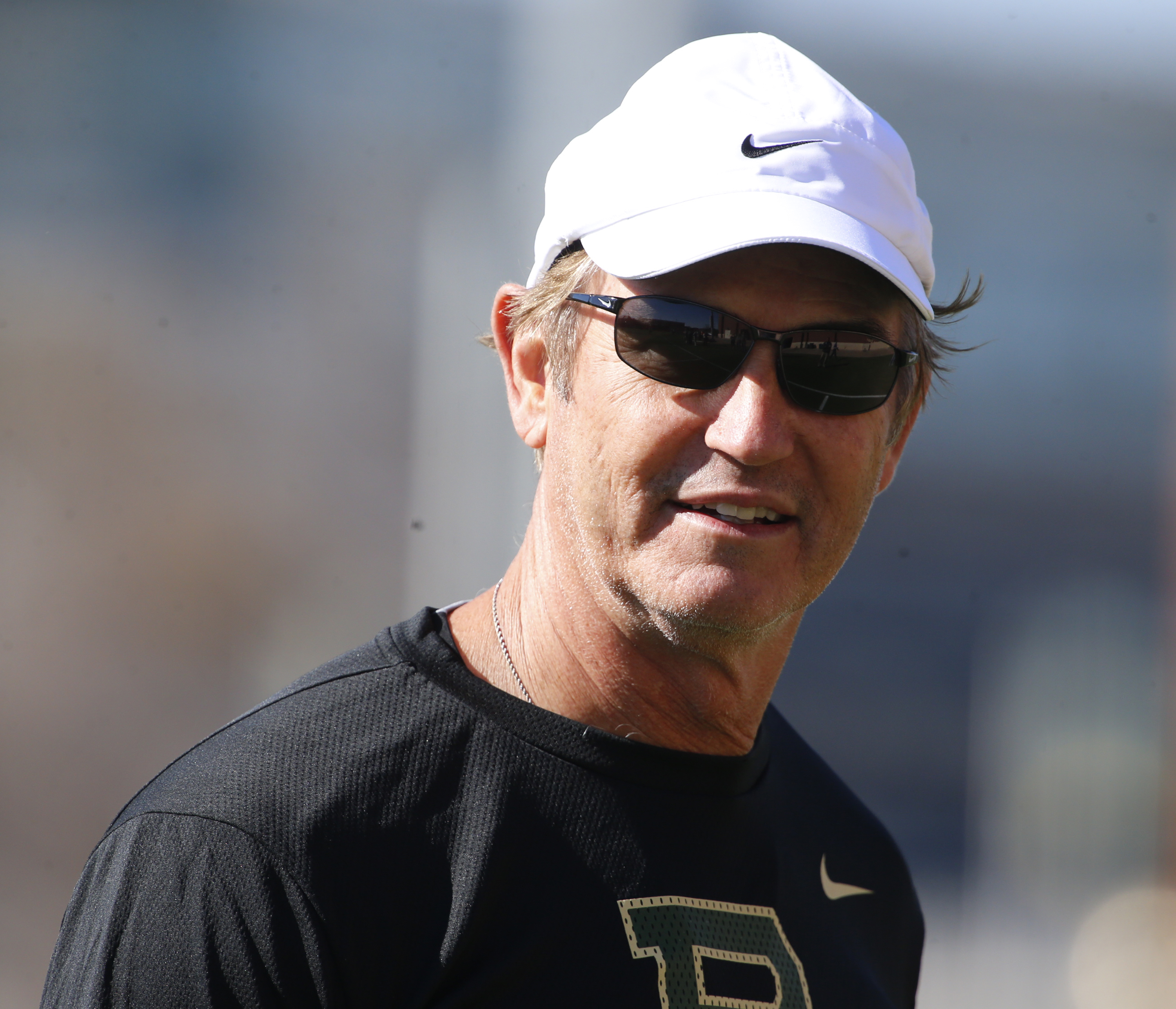 Baylor head football coach Art Briles looks on during the first day of spring football drills, Thursday, Feb. 25, 2016, in Waco, Texas. (Rod Aydelotte/Waco Tribune Herald via AP) MANDATORY CREDIT