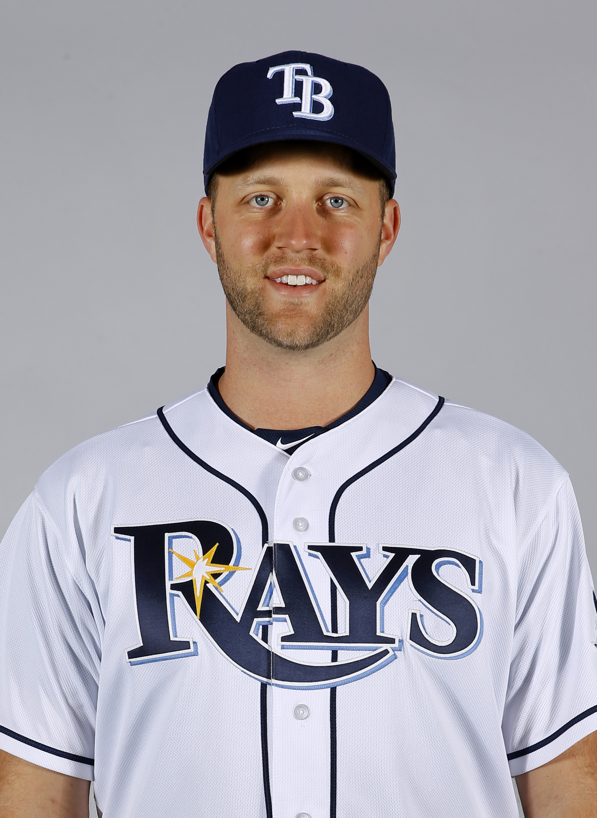 This is a 2016 photo of pitcher Brad Boxberger of the Tampa Bay Rays baseball team. This image reflects the 2016 active roster as of Thursday, Feb. 25, 2016, when this image was taken. (AP Photo/Patrick Semansky)