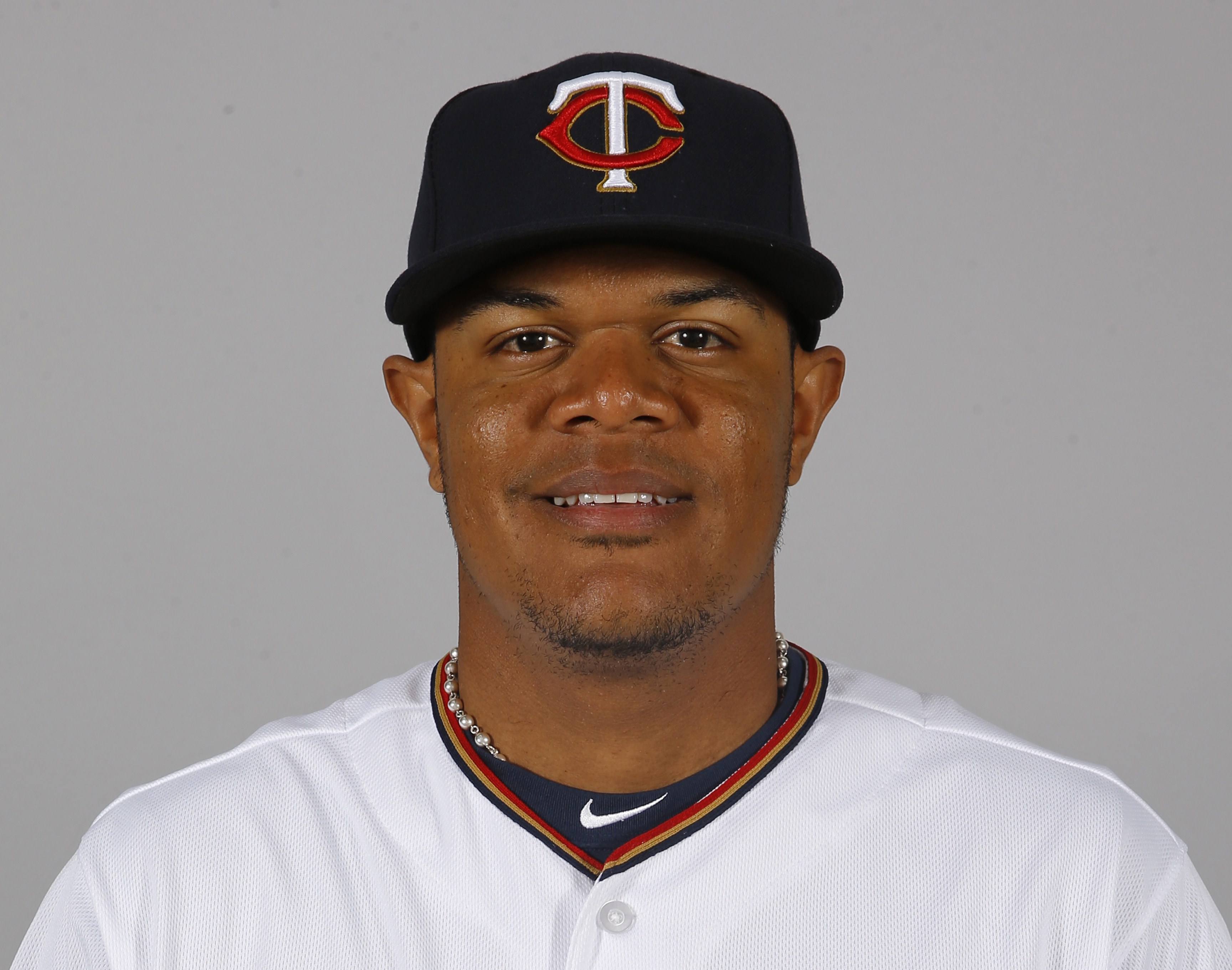FILE - This is a 2016 file photo showing Reynaldo Rodriguez of the Minnesota Twins baseball team. Minnesota Twins outfielder Reynaldo Rodriguez has been suspended 80 games following a positive test under baseball's minor league drug program. The commissio