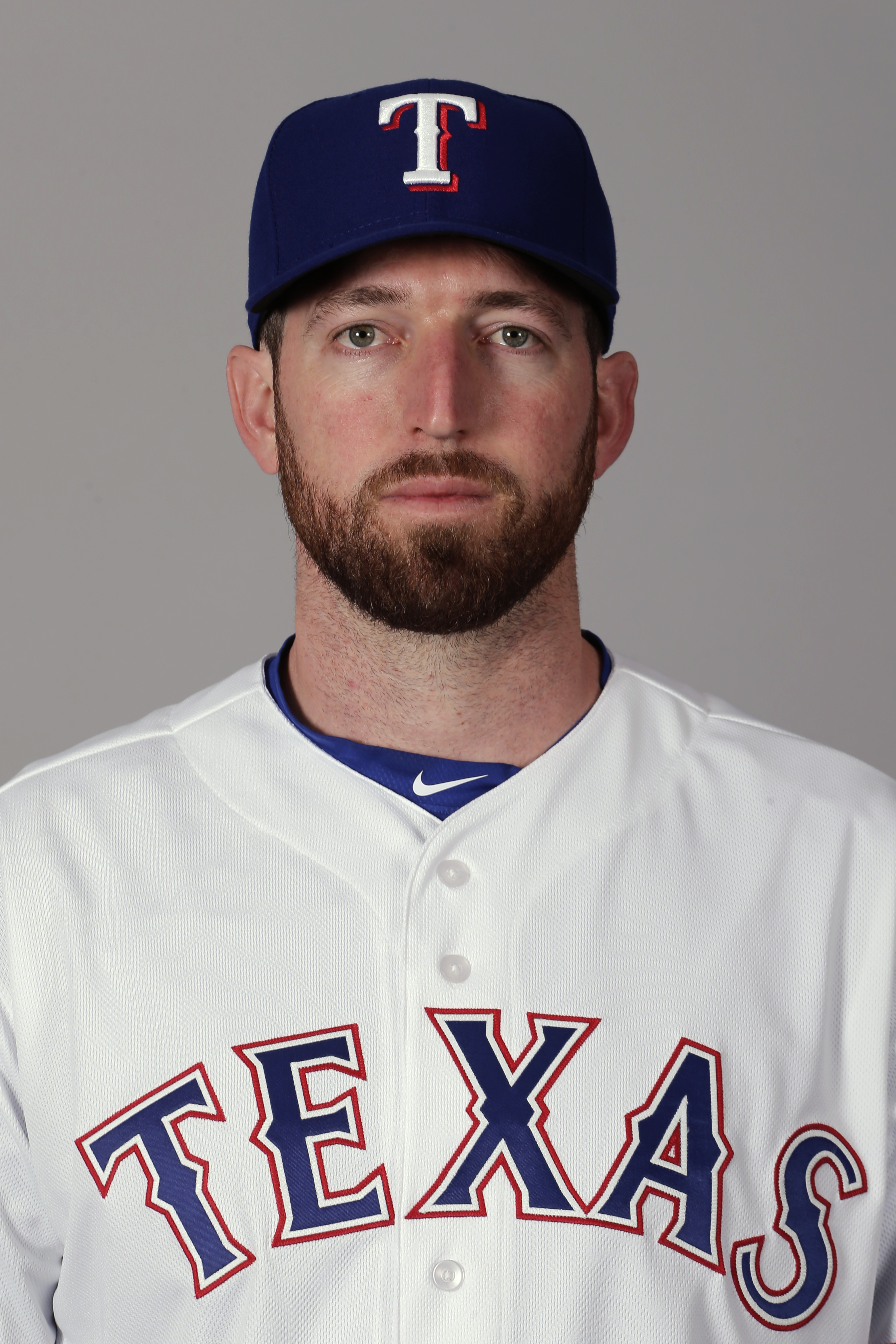 This is a 2016 photo of Ike Davis of the Texas Rangers baseball team. This image reflects the Texas Rangers active roster as of Sunday, Feb. 28, 2016, when this image was taken. (AP Photo/Charlie Riedel)