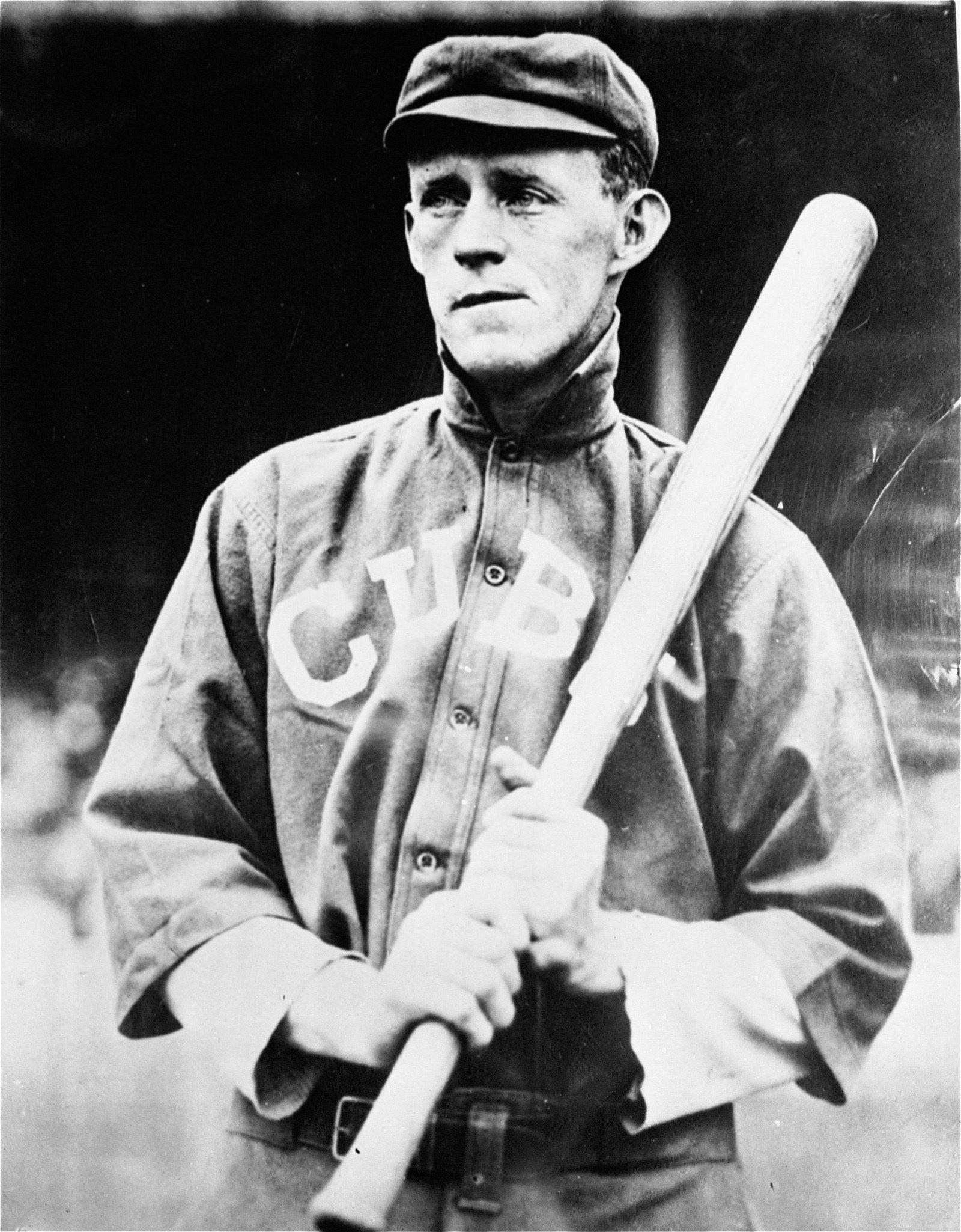 FILE - This is an undated file photo showing Chicago Cubs' Johnny Evers. Some Cubs fans are hopping they can break a 108-year-old World Series championship drought by leaving items at the New York grave of the middle man in the team's famed Tinker-to-Ever