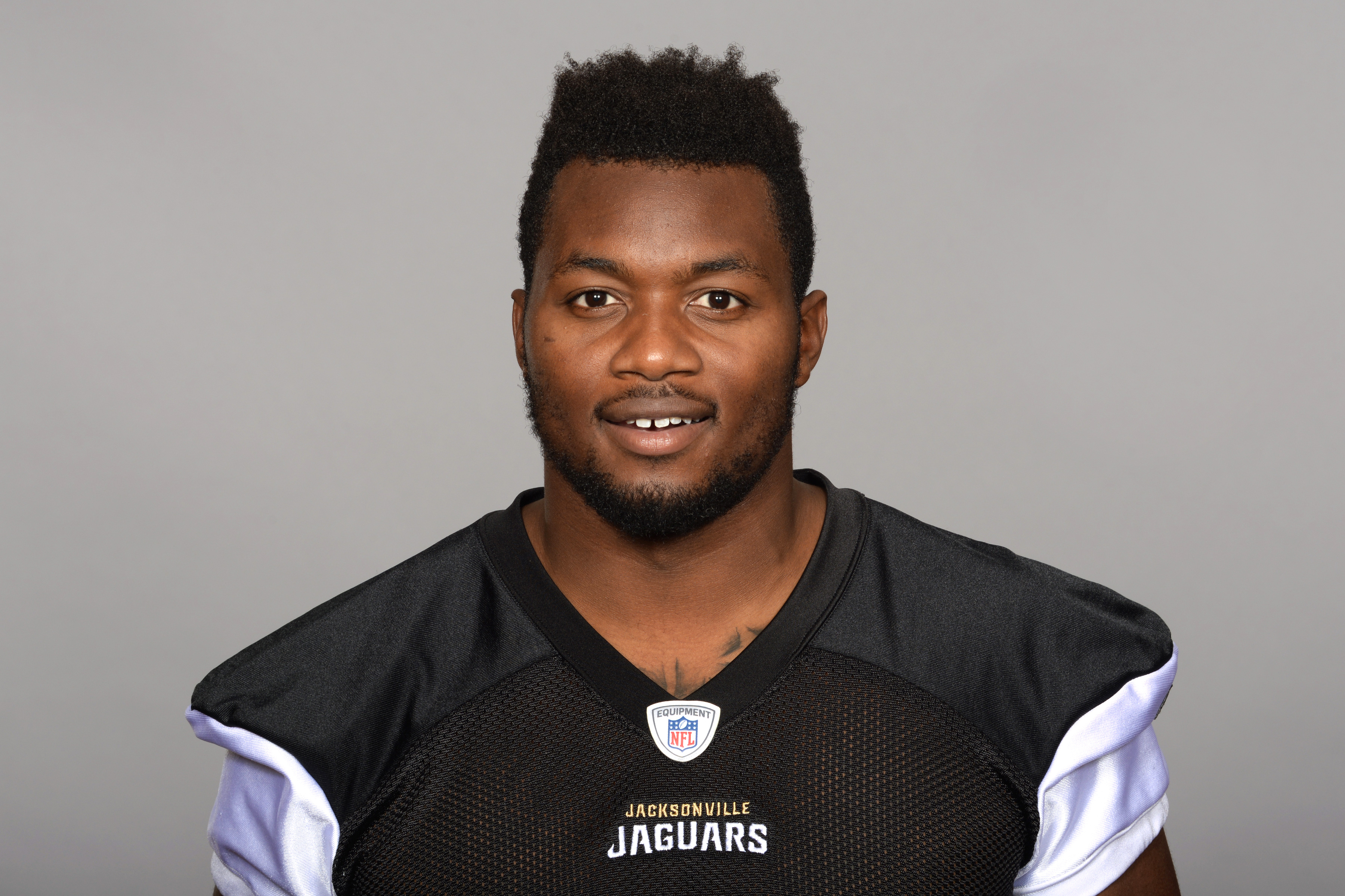 This is a 2015 photo of Dante Fowler Jr. of the Jacksonville Jaguars NFL football team. This image reflects the Jacksonville Jaguars active roster as of Thursday, June 4, 2015 when this image was taken. (AP Photo)