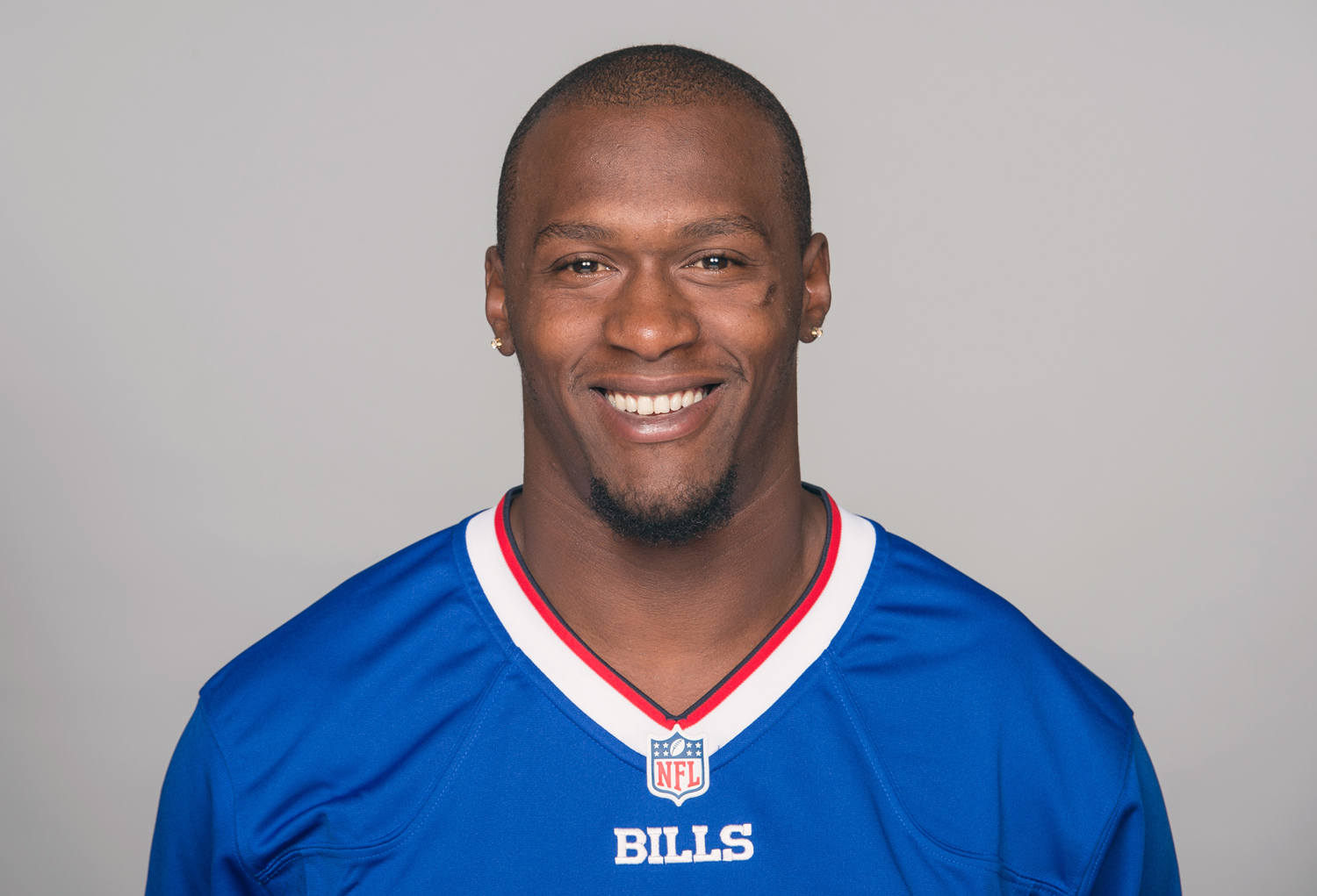 FILE - This is a 2015 file photo showing Leodis McKelvin of the Buffalo Bills NFL football team. Veteran cornerback Leodis McKelvin has been released by the Buffalo Bills in the team's latest cost-cutting move. The move was confirmed to The Associated Pre