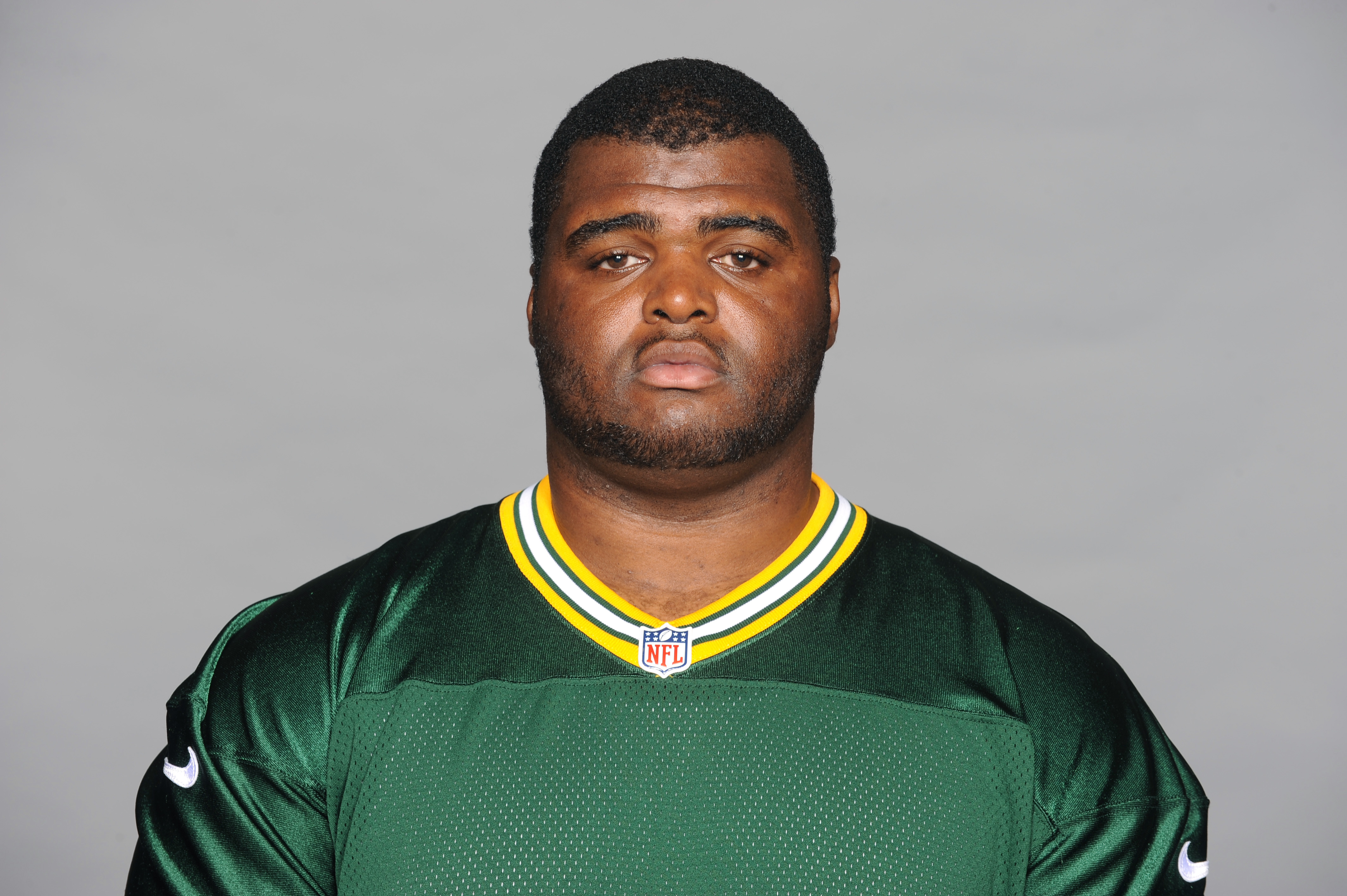 FILE - This is a 2015 file photo showing B.J. Raji of the Green Bay Packers NFL football team.  Defensive tackle B.J. Raji says he is taking a hiatus from the NFL and will not play in 2016 following seven seasons with the Green Bay Packers. Raji said Mond