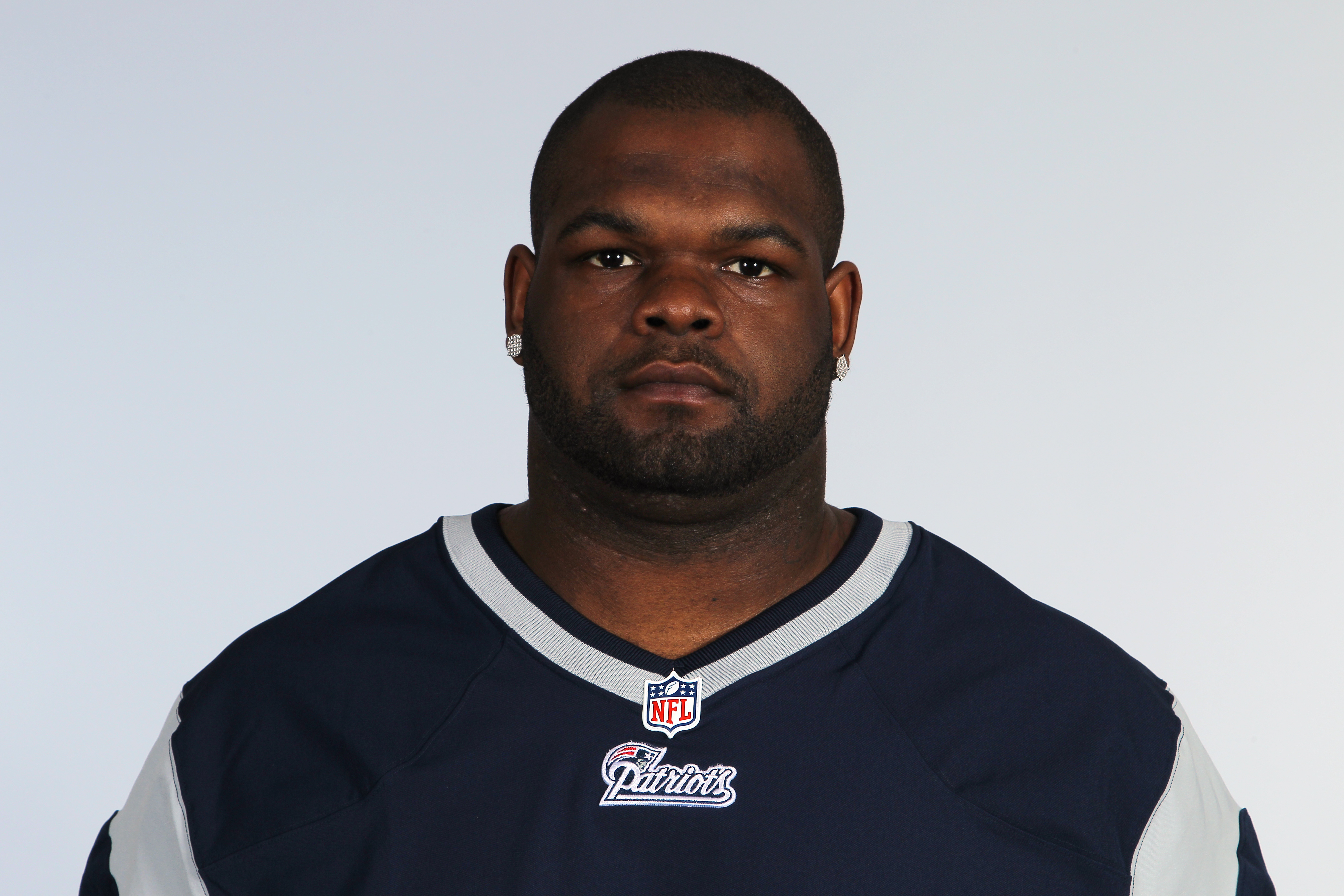 This is a 2012 photo of Ron Brace of the New England Patriots NFL football team. This image reflects the New England Patriots active roster as of Sunday, June 10, 2012 when this image was taken. (AP Photo)