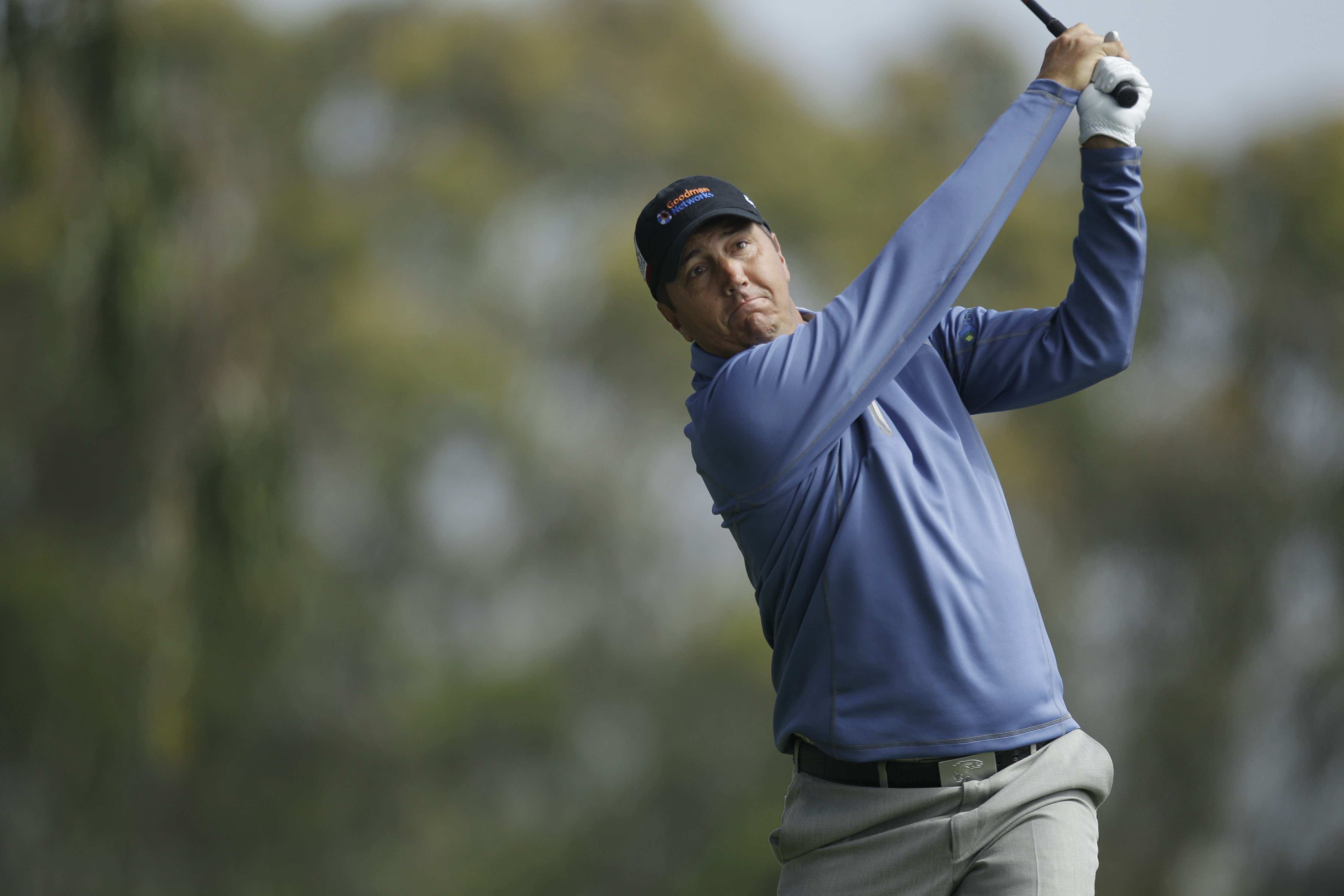 Shane Bertsch during the first round of the U.S. Open Championship golf tournament Thursday, June 14, 2012, at The Olympic Club in San Francisco. (AP Photo/Ben Margot)