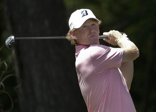 Brandt Snedeker watches his tee shot on the second hole during the third round of the Wyndham Championship golf tournament in Greensboro, N.C., Saturday, Aug. 20, 2016. (AP Photo/Chuck Burton)