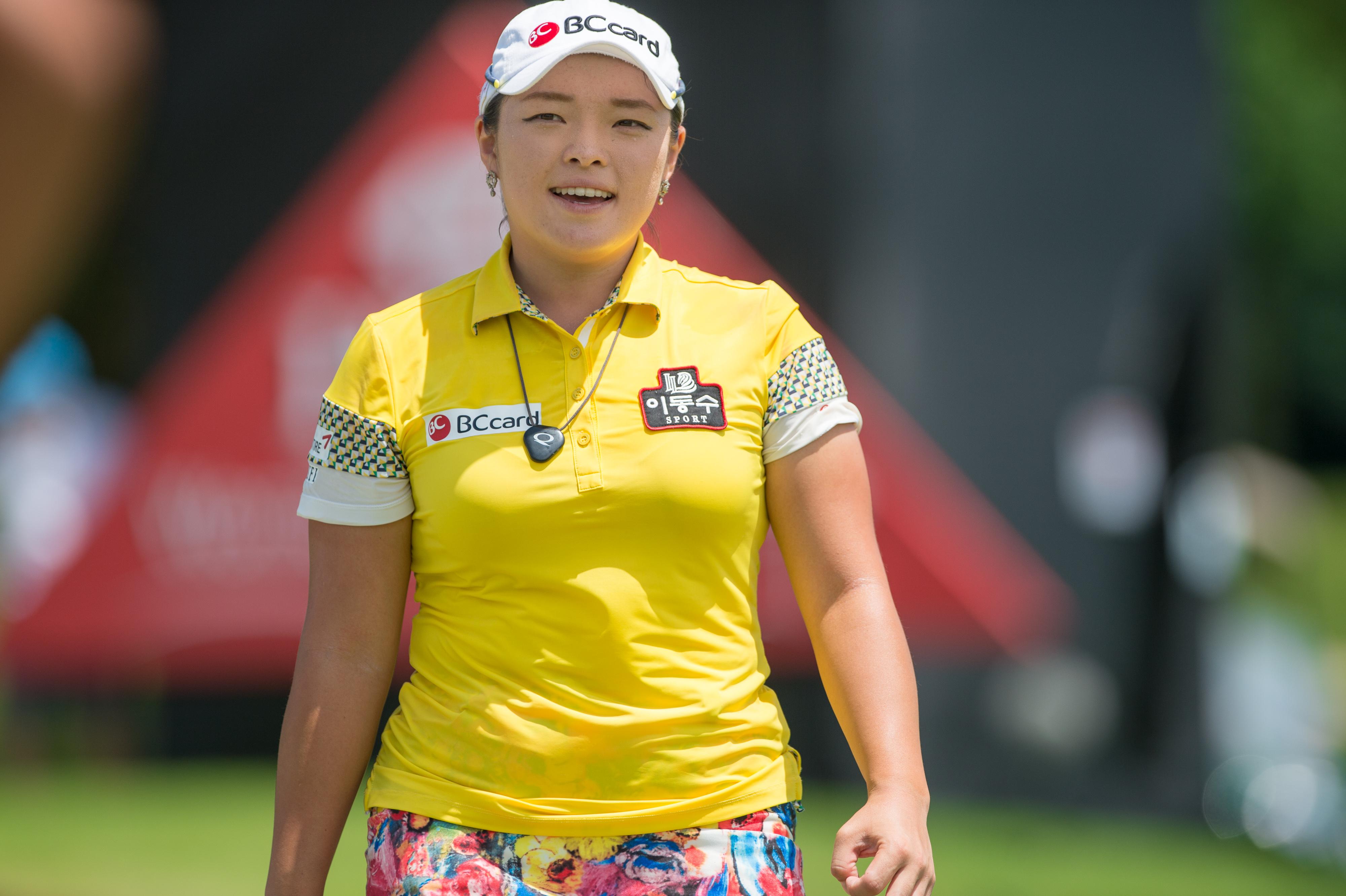 Ha Na Jang (KOR) Tee #16,HSBC women's championship 2016 Champion, March 06, 2016 - Golf : HSBC women's championship 2016 at Sentosa Golf Club, in Sentosa, Singapore. (Photo by Haruhiko Otsuka/ Nippon News, AFLO) (via AP)