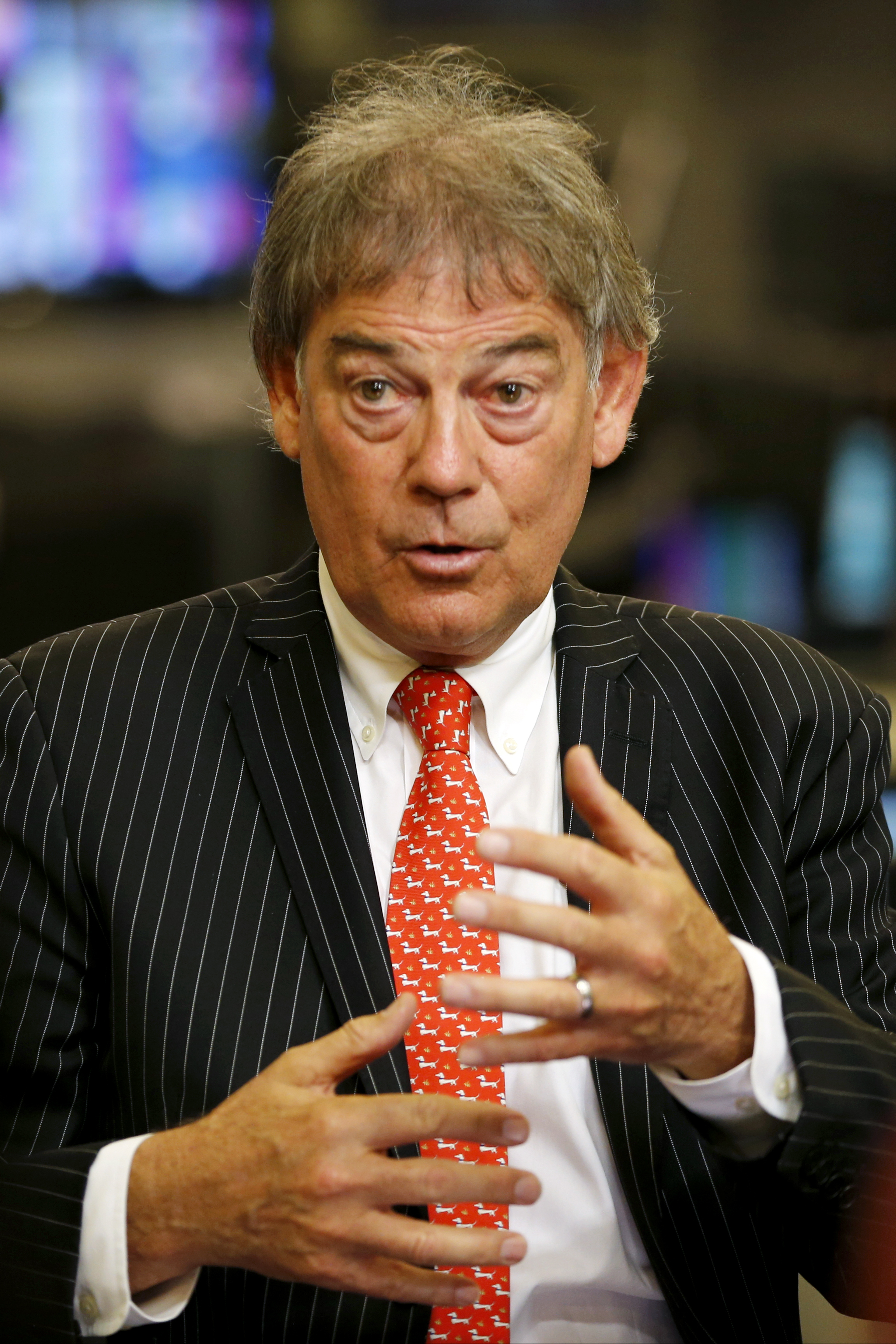 David Howman, director general of the World Anti-Doping Agency, speaks to The Associated Press during an interview, Tuesday, April 21, 2015, in New York. (AP Photo/Julio Cortez)