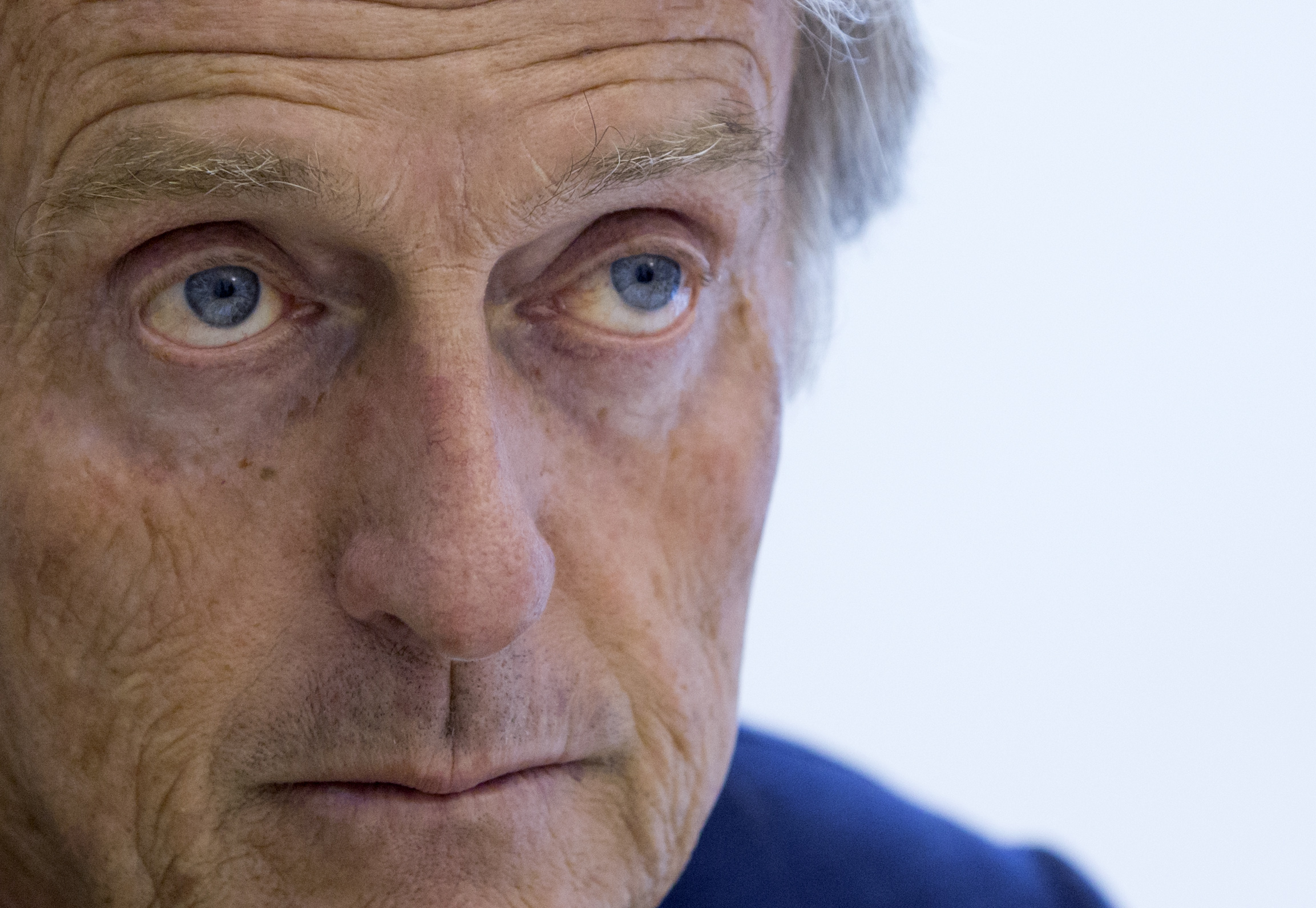 "Rome 2014 Olympic bid committee chairman Luca Cordero di Montezemolo attends an interview with the Associated Press in Rome, Wednesday, Sept. 23, 2015. In a wide-ranging interview Cordero di Montezemolo unveiled a list of ""iconic venues"" that will take fu"