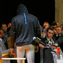 cam newton super bowl press conference
