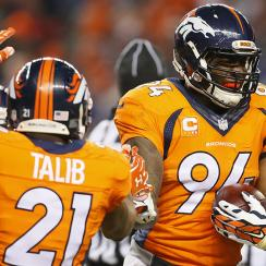 demarcus ware broncos steelers fumble recovery touchdown video