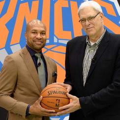 Derek Fisher; Phil Jackson