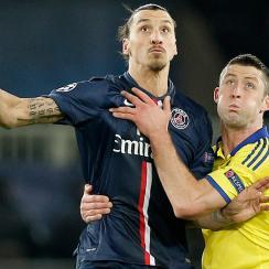 Zlatan Ibrahimovic, Gary Cahill will meet in the Champions League again