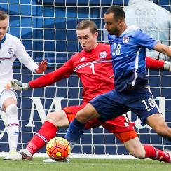 Jerome Kiesewetter made a strong impression in his first USMNT appearance