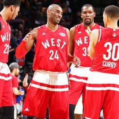 Kobe Bryant final NBA All-Star Game lack of intensity