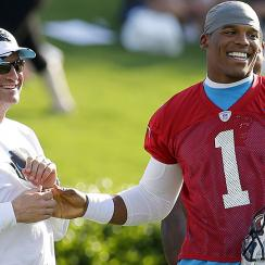 Mike Shula on Cam Newton, Panthers' season, and his dad Don.