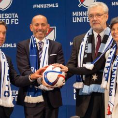 Minnesota is poised to join MLS in 2017