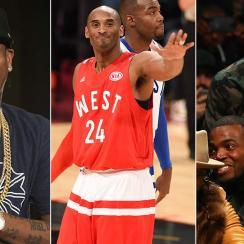 Allen Iverson, Kobe Bryant, Stephen Cuhrry