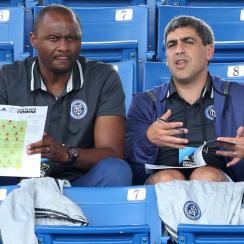 NYCFC's braintrust Patrick Vieira and Claudio Reyna