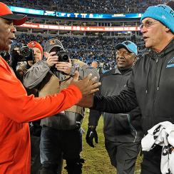 Ron Rivera, Lovie Smith go in different directions after Super Bowl loss with Bears