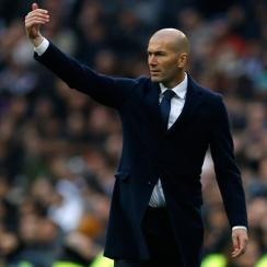 Zinedine Zidane has taken over as manager for Real Madrid