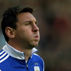 Lionel Messi's tendency to vomit before games is no cause for concern, according to his father, Jorge.