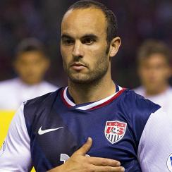 Left off the United States National Team's roster for the 2014 World Cup in Brazil, Landon Donovan is adjusting to life on the other side of the pitch.