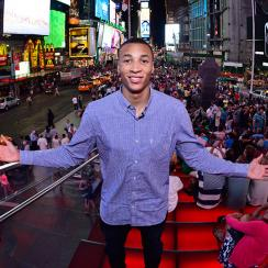 Dante Exum has arrived in New York -- where will he go in Thursday's NBA draft?