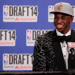 Andrew Wiggins became the second consecutive Canadian player to be taken No. 1 overall in the NBA draft.