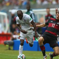 DaMarcus Beasley, the lone U.S. holdover from the 2002 team that reached the World Cup quarterfinals, is aiming to help the Americans to their first knockout win over a non-CONCACAF opponent