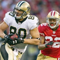 Jimmy Graham lined up out wide or in the slot on 67 percent of his snaps last season.