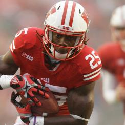 Wisconsin's Melvin Gordon rushed 206 times for 1,609 yards and 12 touchdowns last season to emerge as a potential NFL draft first round pick.
