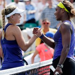 Coming off a bizarre Wimbledon run, Serena Williams won her fourth WTA title this season and third career Bank of the West title.