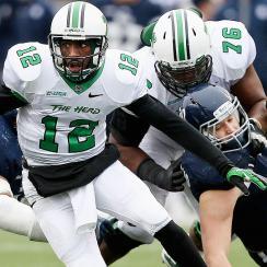 Marshall quarterback Rakeem Cato's 2015 NFL draft prospects