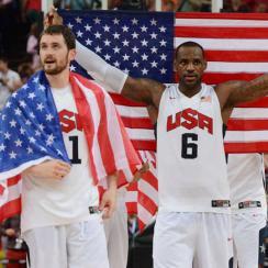 Kevin Love; LeBron James