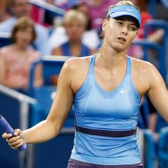 Maria Sharapova questioned Ana Ivanovic's motives behind a medical timeout during their semifinal match at the Western & Southern Open.