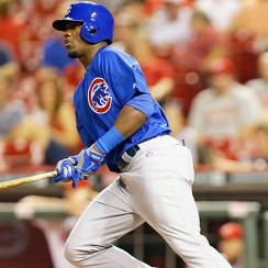Cubs rookie Jorge Soler made the most of his major-league debut Wednesday night, hitting a solo home run in his first at-bat.