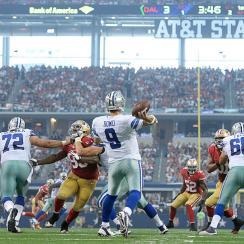NFL Week 1: Tony Romo struggles, Dallas Cowboys lose to San Francisco 49ers