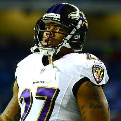 Ray Rice has been cut by the Baltimore Ravens and suspended by the NFL