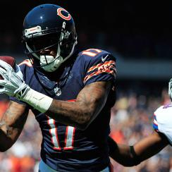 Bears wide receiver Alshon Jeffery during a 2014 game against the Bills