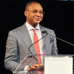 Gus Johnson announced he is stepping down as Fox's No. 1 soccer announcer.